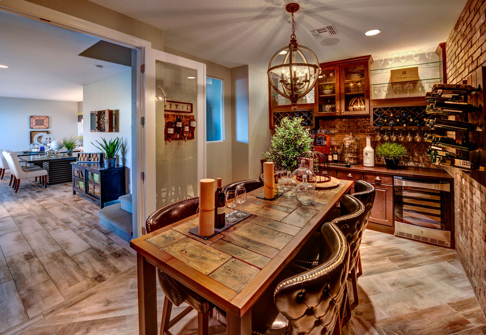 Wine Room - Dorn Homes in Prescott Lakes