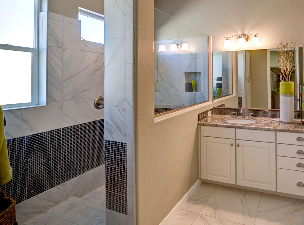 Walk-In Shower - Dorn Homes